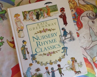 Two Vintage Kate Greenaway Books Nursery Rhyme Classics & ABC