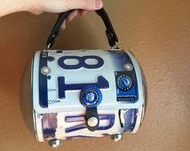 "Texas License Plate clutch, license plate purse, Texas Pride handbag, 90s -Vintage ""Little Earth"""