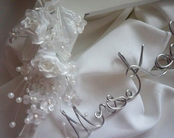 Gift To Bride From Mother of Groom, Mrs Wedding Hanger