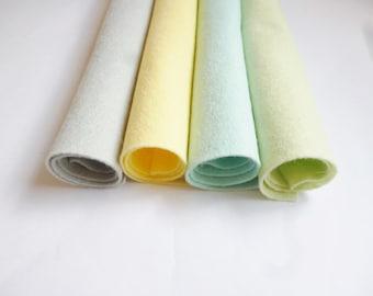 Felt sheets wool blend felt arts and crafts 12inch felt square grey felt