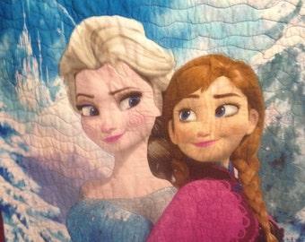 Frozen Quilt! Custom Embroidered