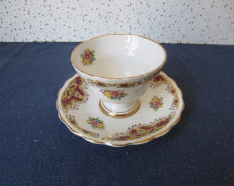 Fine Porcelain Cup and Saucer from England, Royal Kendall China