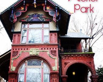 Wicker Park neighborhood print