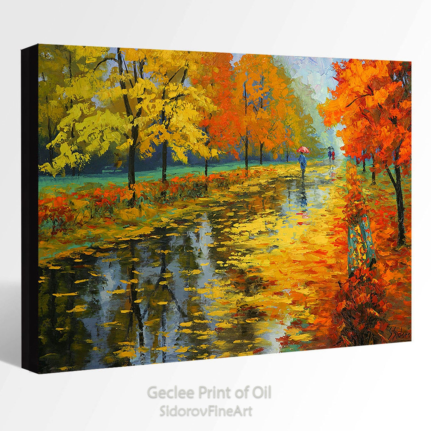 oil painting giclee print canvas print fine art print of