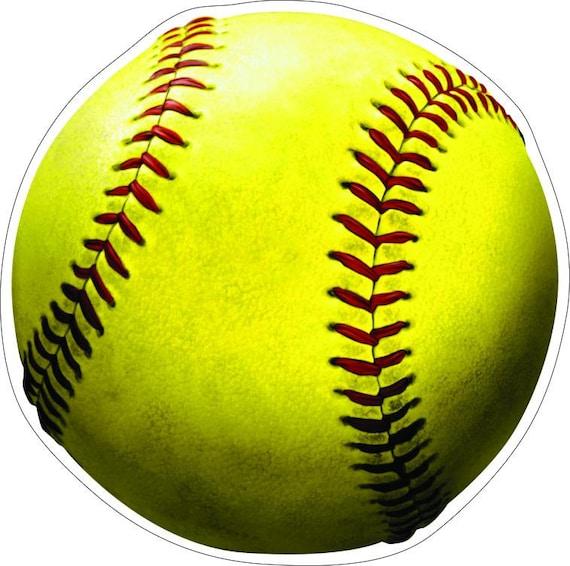 Yellow Softball Image Yellow Softball High