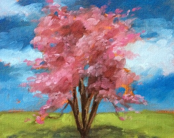 Oil Paintings • Original Art • Oil Painting • Daily Painter • Daily Painting • Crepe Myrtle