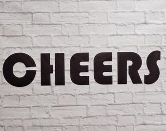 Cheers Vinyl Wall Decal