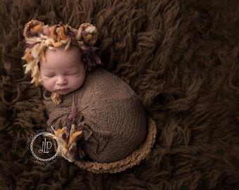 new born lion bonnet,photo prop