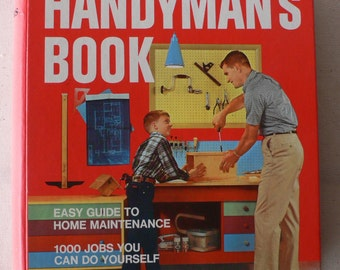 vintage book, Better Homes and Gardens Handyman's Book, 1974 from Diz Has Neat Stuff