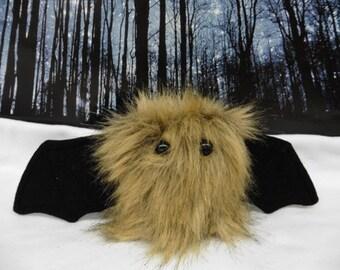 Tawny The Scrappy Bat Stuffed Animal, Plush