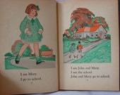 Mary John and Peter Hardcover Children's book from Toronto Ontario Canada 1933 T. Eaton Co.
