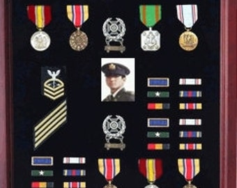 Military Shadow Box, Medal Display case