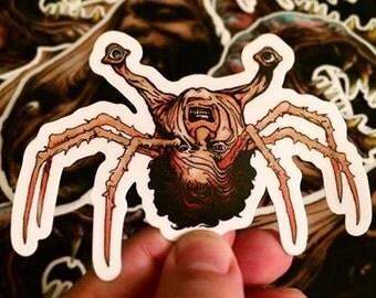The Thing Creature Sticker Set (3 Full Color Stickers) John Carpenter Horror Classic