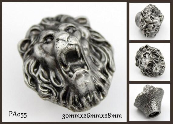 Pewter Dresser Knobs Cabinet Pull Handles Lion Animal Cabinet Knobs Pulls  Handle Antique Silver Black Hardware From Jade4wood On Etsy Studio