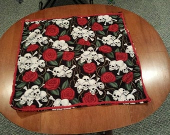 Hand Made Santisma Muerte Altar or Reading Cloth