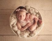 PDF Crochet Patterns - newborn photography prop Lily lace jumpsuit_romper #118
