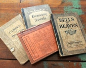Vintage Hymnal Collection set of 4