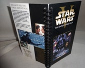 Star Wars The Empire Strikes Back 2000 VHS Tape Box Notebook