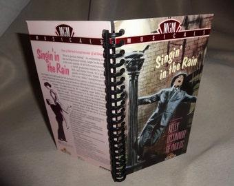 Singin' In The Rain VHS Tape Box Notebook