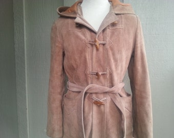 TOGGLE   ///   Suede Leather Trench Hood
