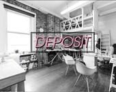Custom cake topper deposit listing