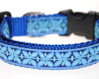 "Filigree - 3/4"" Adjustable Dog Collar"