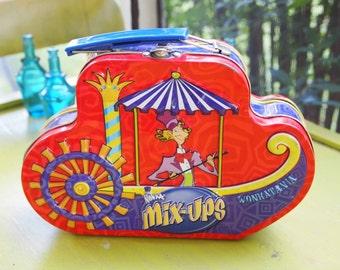 Willie Wonka Metal Lunchbox, Wonkatania Tin, Lunch Box, Chocolate Factory Tin, Willie Wonka Tin, Graphic Tin, Collector's Tin, Wonka Mix Ups