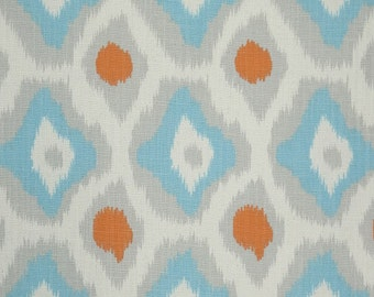 Adrian Mandarin Dossett Curtain Panels 24w or 50w x 63, 84, 90, 96, 108, 120 L Premier Prints Extra Long Length