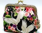 Crane - Small clutch / Coin purse R1