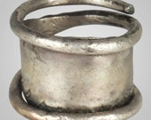 Fantastic Ancient Viking Pinky Ring Jewelry C.866-1067A.D. Size 7 (17.4mm)(Brr687)