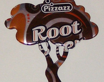 TREE Magnet - ROOT BEER Soda Can