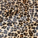 "Hair On 8""x10"" New Version Leopard CAMEL BLACK and BROWN Soft hoh Cowhide fur 4.5-5oz / 1.8-2 mm PeggySueAlso"