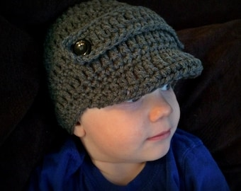 Newborn,Toddler Newsboy Hat -- Photo prop -- YOU PICK COLOR
