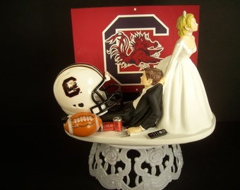 Football Steelers Or Your Team Bride And Groom Funny By