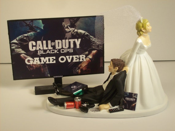 funny wedding cake toppers xbox gamer addict xbox one wedding cake topper ops by 14610