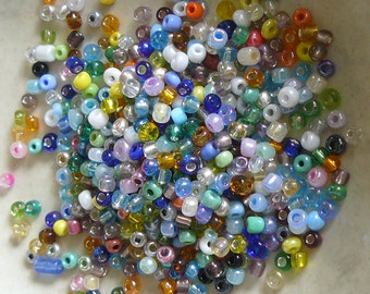 8/0 Multi-Color Glass Seed Beads - Item # MX80A