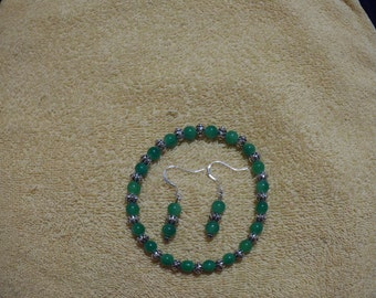 Lt. Green Stretch Bracelet