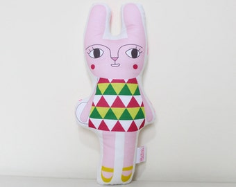 Rabbit Bunny Soft Toy - Flower Garden