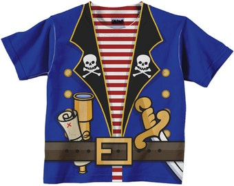 Personalized Pirate Shirt, Boys Pirate Birthday Shirt, Pirate T-Shirt