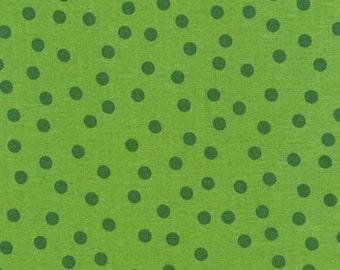 Green (Pear) Remix Tone on Tone Dots From Robert Kaufman
