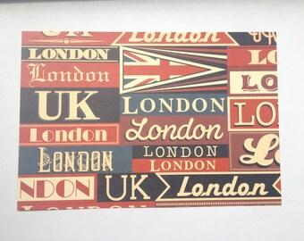 Passport Cover I Heart London Passport Cover (#A100)