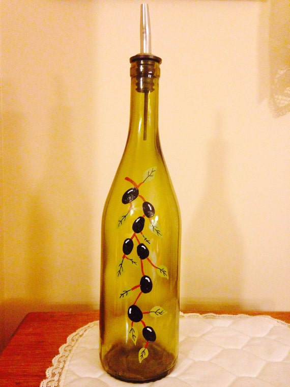 Olive oil decorative bottles iron blog for Decorative vials