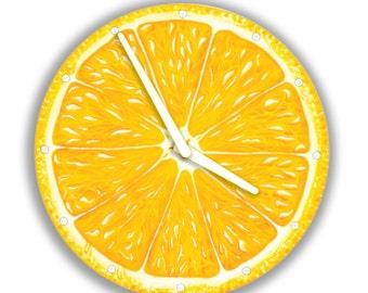 Lemon Wall Clock Fruit