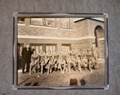 vintage football team photograph Nebraska high school 1930s