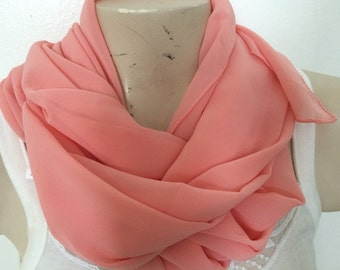 Woman/ Girls Scarf Shawl Wrap, Accessories, Usa Seller