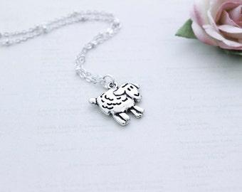 Happy Sheep Necklace
