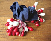 Fourth of July Millinery Stamen Bundle