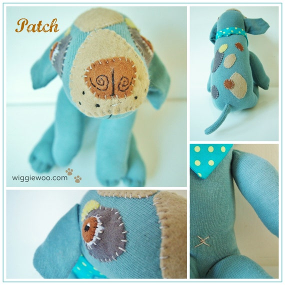sock dog - your own custom made sock dog pet