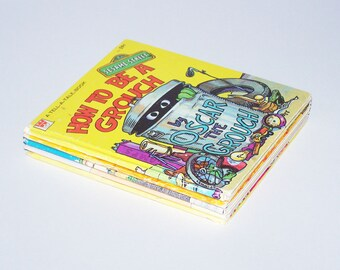 Vintage Sesame Street Book Bundle - 5 Books - 1970s / 1980s