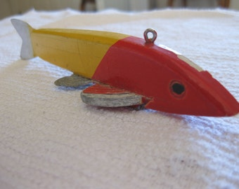 Vintage George  Randall Ice Fishing  Spearing Decoy collectible
